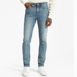 Everlane Slim Straight Medium Wash Jeans
